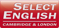 Select English logo 2012 for English in Britain
